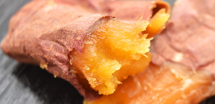 皮ごと食べられる 焼き芋干し