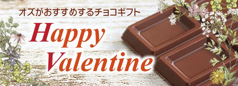 Happy Valentine<br>オズがおすすめするチョコギフト