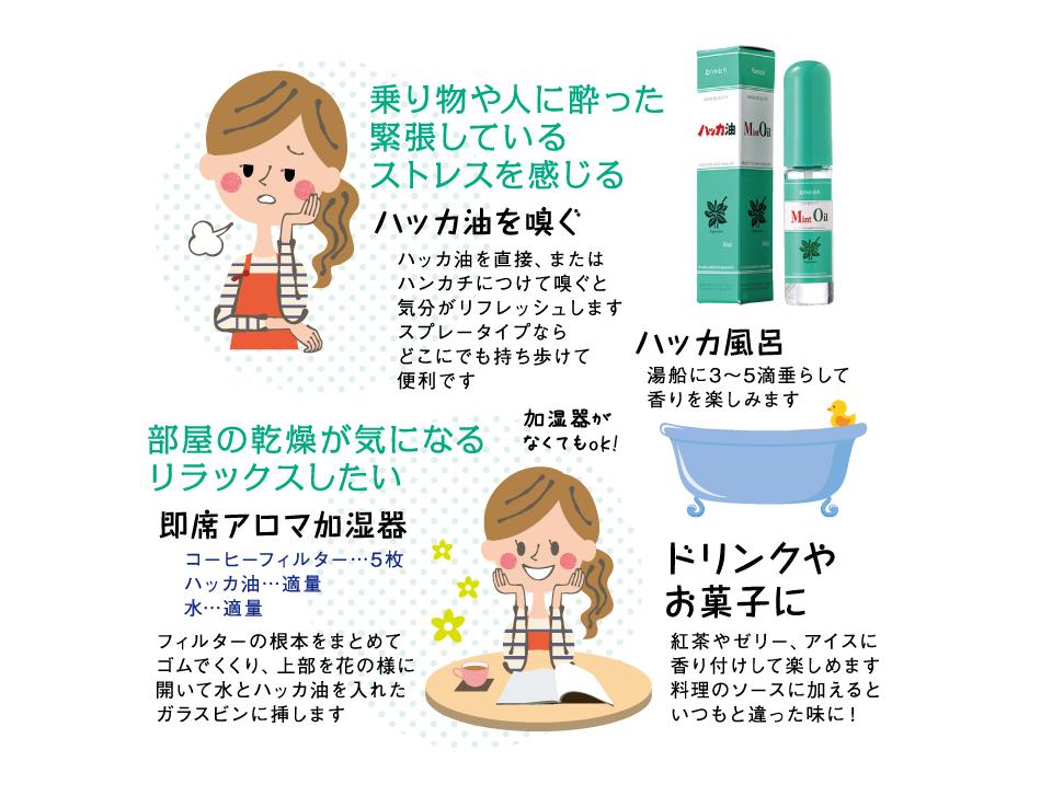 花粉症の皆様集合!!万能選手「北見ハッカ油」のご紹介