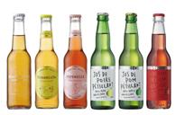 フランスの果樹園で作られるアルコール0%スパークリング