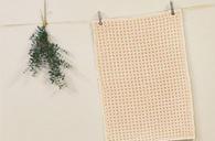 ワッフル織りがさらさら触感瞬乾スマイルバスマット