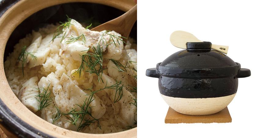 おいしい土鍋ごはんの決定版!長谷園 かまどさん イメージ
