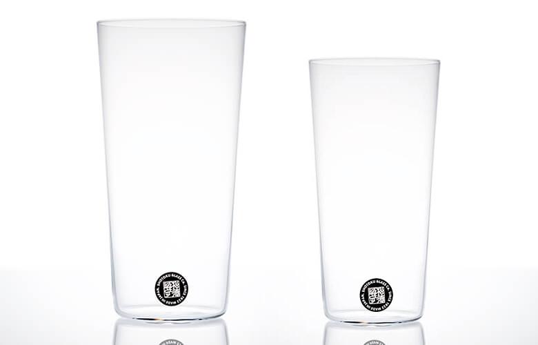 うちのビールが10倍美味しくなる至高の口当たり!うすはりグラス