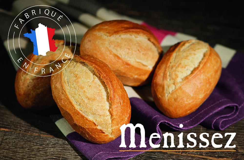 トースターで焼き立てパンに!Menissezミニパン イメージ