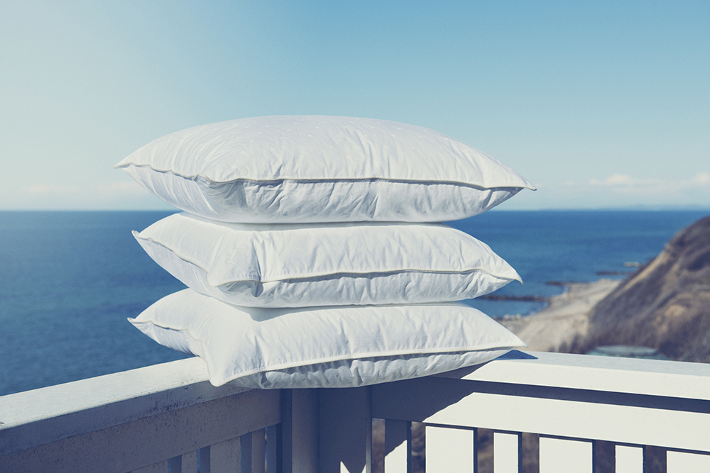 枕を自分のカタチに見つけた!夢の自在枕 イメージ