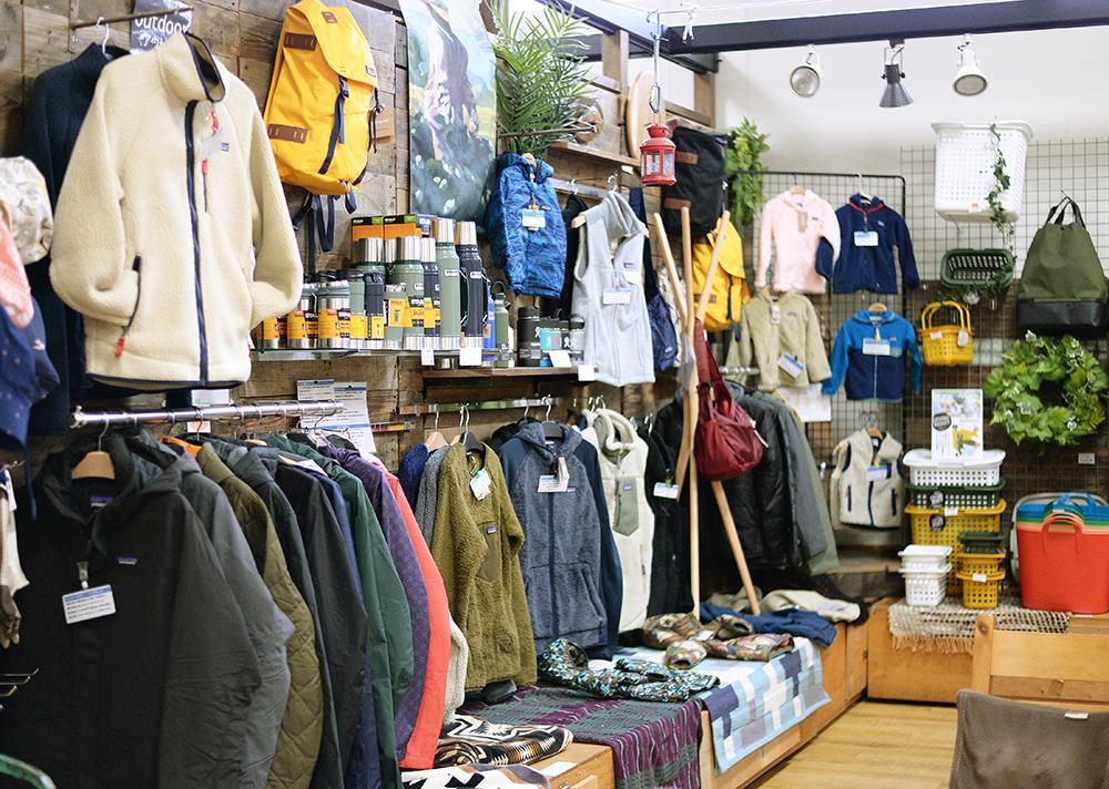 アウトドアブランド「patagonia」を4店舗で展開中